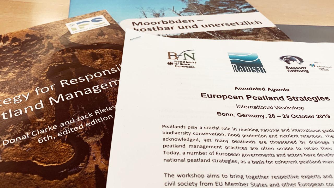 European Peatland Strategy Workshop